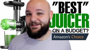 Comparing the BEST Selling Amazon Juicers! | Aicok VS Tec