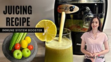 Juicing Recipe For GLOWING Skin   Immune System Booster   To Maintain Cholesterol Level  Anti-Aging
