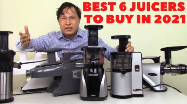 6 Best Time-Proven Slow Juicers in 2021 to Lose Weight & Get Healthy