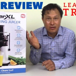 Does the PowerXL Self-Cleaning Juicer Clean Itself? Full Review