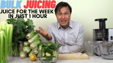 How to Best Juice in Bulk to Save Time | Juicing for a Week in 1 Hour