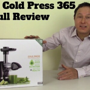 Should You Buy the Omega Cold Press 365 Juicer?  Full Review