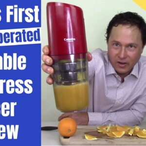 World's First Battery Operated Portable Cold Pressed Slow Juicer Review