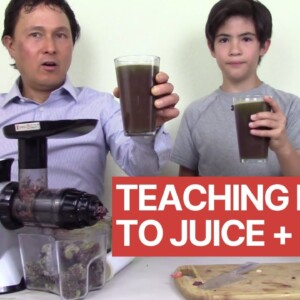 Teaching My Nephew Why Juicing is Good for You + Kid Approved Juice Recipe
