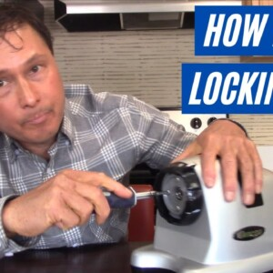 How to Fix a Stuck / Tight Locking Clip on Omega Horizontal Juicers