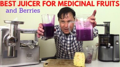 Best Juicer to Juice Medicinal Fruits & Berries to Maximize Phytonutrients