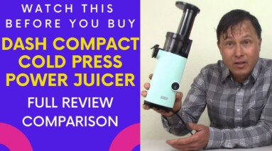 Watch this Before You Buy the Dash Compact Juicer   Review Comparison