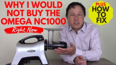 Why I Would Not Buy the Omega NC1000 Premium Juicer Right Now